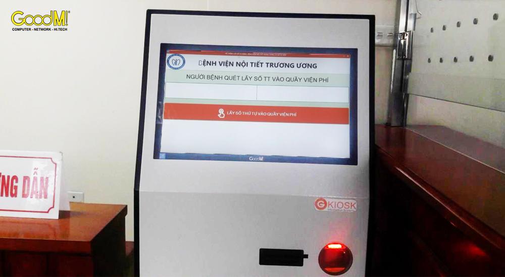 Máy Kiosk tra cứu thông tin y tế